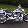 Harley Davidson v-rod 100th edition customised