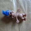 old 5& 1/2 inch  toy troll