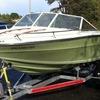 Classic searay speed boat