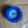 a nice desk  football clock