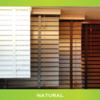 FULL HOUSE WOODEN VENETIAN BLINDS ( NEW IN BOX)