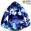 7.97ct Tanzanite diamond stone GIA verified, AAA+ certified from block D Rare Stone Investment stone