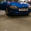 Vauxhall Tigra chequers model with MOT