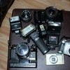 Job lot film and digital cameras (for spares or repair)