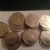 Olympic 50pence coins full set