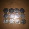 Various 2pound coin and 50p