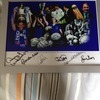 various signed legends everton framed pictures and signed shirt from 2009 season