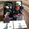 Batman and superman  meercats limited edition s