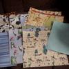 Mixed scrap book paper