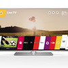 "60"" LB650V LG  3d Smart TV with webOS and 3d blue ray dvd player"