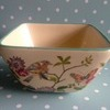Hand painted square bowl
