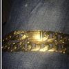 9ct gold chain 150grams big curb chain