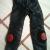 Alpinestars leather pants with titanium sliders size 48