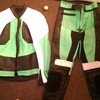 Mens 2 piece genuine leather motorcycle leathers