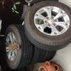 mitsubishi warrior rims and tires