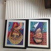 Jack and Vera signed limited edition prints