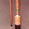 Old vintage Octopus 2pc fishing rod good condition