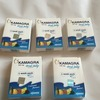 Boxes of kamagra-7 sachets in a box