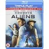 Cowboys and aliens on blu ray