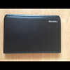 Toshiba laptop with case