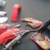 CR250 full set of plastics and a Full dep exhaust and can