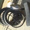 Pit bike tyres .rims
