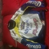 ORIGINAL CORONA EXTRA RACING JOE ROCKET SIZE 2XL BIKE JACKET NEVER USED .