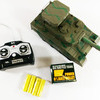 "NEW 10"" Mini RC Radio Remote Control POWER Shooting BB Firing Military Army Turbo TANK"