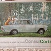 Originial Ford Cortina Garage Advertisement