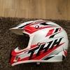 Thh large motorcross helmet