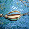 a very nice large pendant on a chain