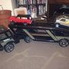 Tonka truck transporter and trucks
