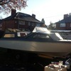 £2250 ono BARGAIN convertable cabin cruiser boat, engine and trailer 4 berth