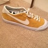 Brand new UK 7 suede NIKE mustard trainer