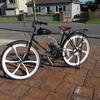 80cc vintage push bike.