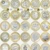 2 pound coins mary rose shakespeare britannia magna carta