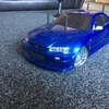 Nissan skyline Paul walker blue hand built tamiya drift