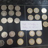 Various 2 pounds 50ps and one pound coins for swap only