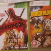 xbox 360 games deadpool and borderlands 2