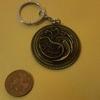 GAME OF THRONES house targaryen medalion keyring