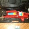 Loads of power tools car trolley jack, scroll saw, router drills etc for fishing gear