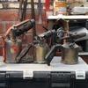Three Brass Blow tourches
