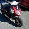 Peugeot speed fight 100cc swap