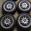 Genuine Subaru Legacy GT-B BBS wheels 16 inch with tyres