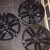 audi wheels no tyres set of 3