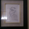 Signed peter howson drawing 1999
