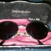 Vintage laddies YSL sunglasses and original case