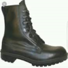 BRAND NEW!!! black leather military boots