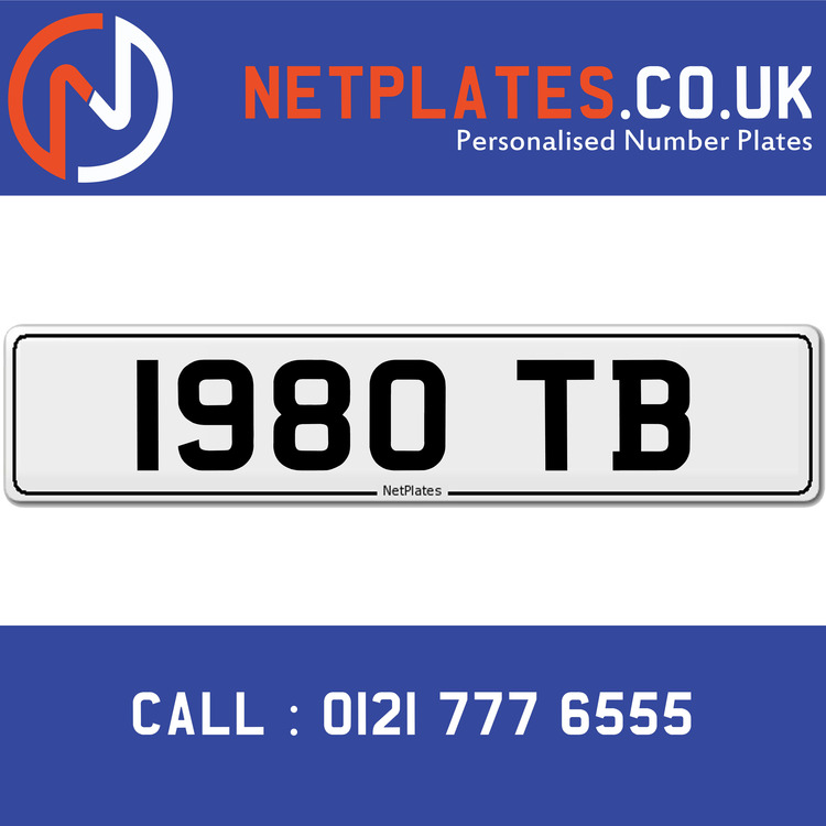 Personalised Car Registration Numbers Uk