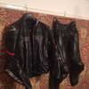 Dainese two piece leather suit motorcycle leathers